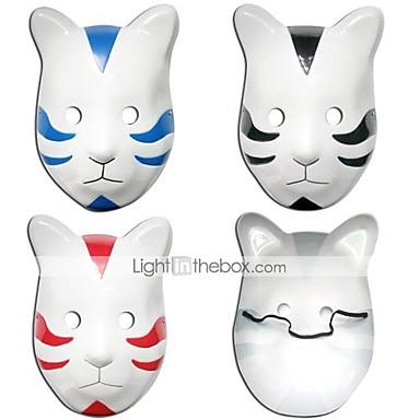 Mască Inspirat de Naruto Cosplay Anime Accesorii Cosplay Mască PVC Bărbați Pentru femei fierbinte
