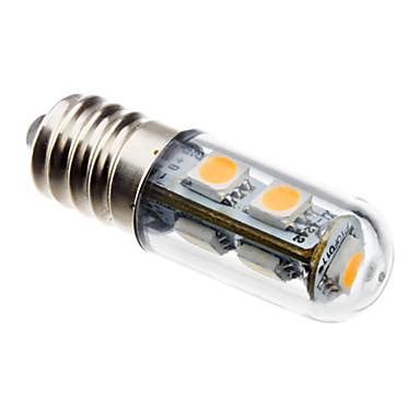 80 lm E14 Becuri LED Corn T 7 led-uri SMD 5050 Decorativ Alb Cald AC 220-240V