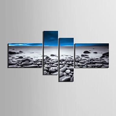 panza Set Peisaj Modern,Patru Panouri Vertical print Arta Decor de perete For Pagina de decorare