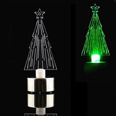 привело стиль свеча красочные мини настольных новогодняя елка - CR2032 включены