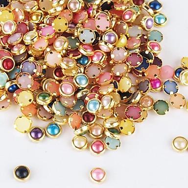 500 Στολίδια Κοσμήματα νυχιών Κομψό & Μοντέρνο Lovely Γλυκός Σχεδίαση Νυχιών Glitter νυχιών Κομψό & Μοντέρνο Lovely Γλυκός