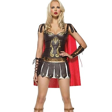 Romeinse kostuums Cosplay Kostuums Feestkostuum Vrouwelijk Halloween Festival / Feestdagen Halloweenkostuums Patchwork
