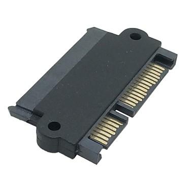 sata 22 pini 7 + 15 pini mufă tată la SATA 22p 7 + 15p feminin adaptor jack convertor