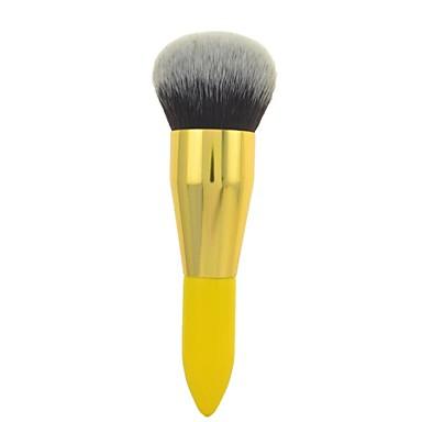 1pcs Professional Makeup Bürsten Puderpinsel Künstliches Haar Antibakteriell Gesicht Große Pinsel