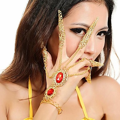 Dance Accessories Jewelry Women's Metal Christmas Decorations Halloween Decorations