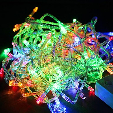 1pack Leuchtgirlanden LED-Perlen Hochleistungs - LED Abblendbar / Wasserfest / Dekorativ 110 V