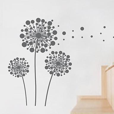 perete decalcomanii autocolante de perete, autocolante de perete pentru decorațiuni interioare păpădie pvc