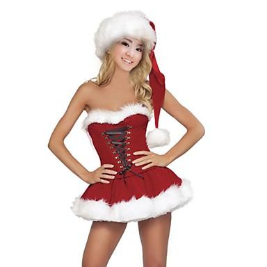 női szexi vállnélküli backless karácsonyi fehérnemű (kalap) 2214372 ... 2369e3b67e