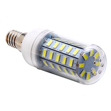 3.5W 250-300 lm E14 Becuri LED Corn T 48 led-uri SMD 5730 Alb Natural AC 220-240V