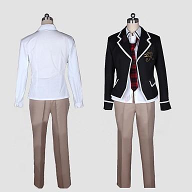 Inspirat de trinity Seven Cosplay Anime Costume Cosplay Costume Cosplay Peteci Manșon Lung Geacă / Cămașă / Pantaloni Pentru Bărbați