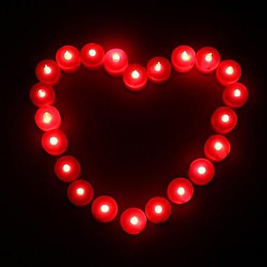 1pc Kerzenlicht Batterie Dekorativ