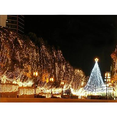 110v 100 führte dekorative Schnur der Weihnachtsfeier warmes Weiß / Weiß