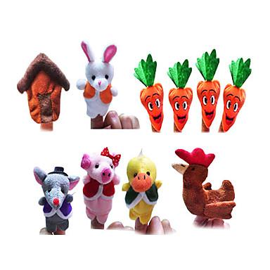 Supa de morcov 10 buc mr.bonnie lui de marionete zână degetul poveste copiii vorbesc propunerii