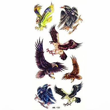 rezistent la apa vultur temporară autocolant tatuaj tatuaje proba mucegai pentru body art (18.5cm * 8.5cm)