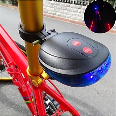 Lumini de Bicicletă reflectoare de siguranță lumini de securitate Iluminat Bicicletă Spate LED Ciclism Rezistent la apă Baterii Cell