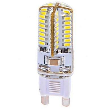 G9 LED-maïslampen T 64 leds SMD 3014 Koel wit 360lm 6000-6500K AC 100-240V