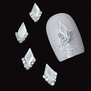 10st wit marquise 3d strass diy legering accessoires nail art decoratie