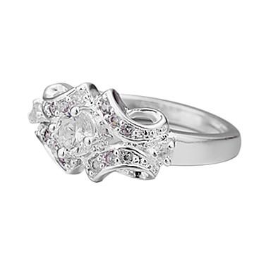 Dames Verklaring Kettingen Zilver Sterling zilver Zirkonia Kubieke Zirkonia Modieus Dagelijks Causaal Kostuum juwelen
