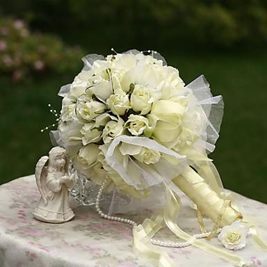 Bruidsboeketten Boeketten Bruiloft Feest / Uitgaan Zijde 12.2
