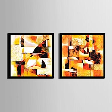 Gerahmtes Leinenbild Gerahmtes Set Fantasie Wandkunst, PVC Stoff Mit Feld Haus Dekoration Rand Kunst Wohnzimmer Schlafzimmer Küche