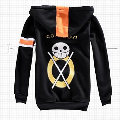 Inspiriert von One Piece Trafalgar Law Anime Cosplay Kostüme Cosplay Tops / Bottoms Langarm Mantel Für Herrn