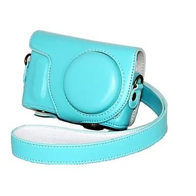 moda pajiatu® PU aparat foto din piele husă de protecție cu curea de umăr pentru Samsung nx mini lentile 9mm nxf1