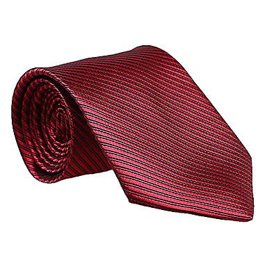 roșu cravată cu dungi