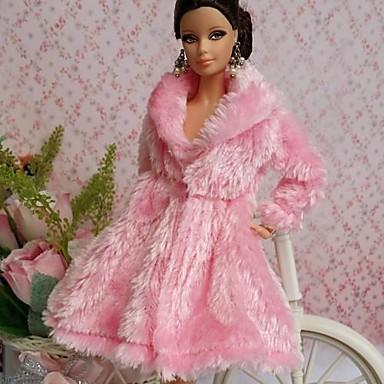 Party/Abends Kleider Für Barbie-Puppe Spitze Organza Top Für Mädchen Puppe Spielzeug