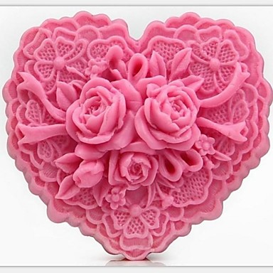 Mold Flower For Pie For Cookie For Cake Silicon Rubber Eco-friendly DIY 3D
