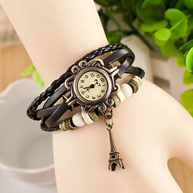 Wanbao Women's Fashion Weave Bracelet Watch