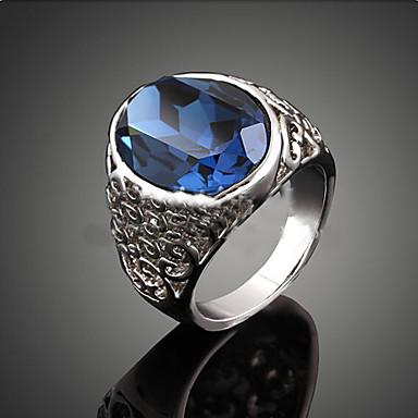 Damen Luxus Kristall Kubikzirkonia Statement-Ring - Luxus / Modisch Farbbildschirm Ring Für Party