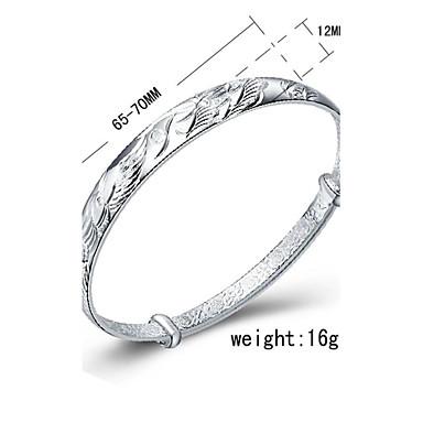 Women's - Cuff Silver Bracelet For Birthday Engagement