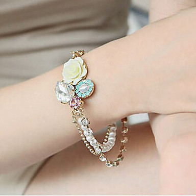 kvinnors eleganta diamonade armband