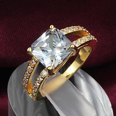 Kadın's Bildiri Yüzüğü alaşım Düğün Parti Günlük Kostüm takısı