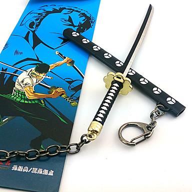 Armă Sabie Inspirat de One Piece Cosplay Anime Accesorii Cosplay Sabie Aliaj Bărbați Pentru femei nou
