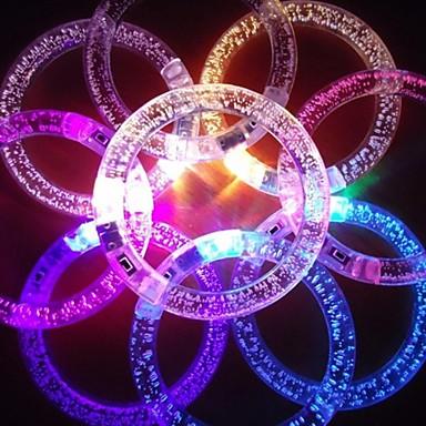 SENCART Decorațiuni Luminoase / Lumini De Crăciun  / Colier LED Baterie Rezistent la apă