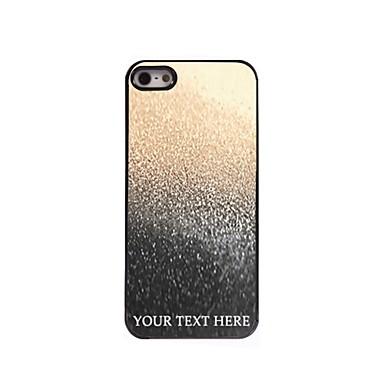 caz telefon personalizate - picătură de caz metalice de proiectare de apă pentru iPhone 5 / 5s