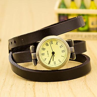 Damen Armbanduhr Quartz Armbanduhren für den Alltag Plastic Band Charme Schwarz - Rot Grün Blau