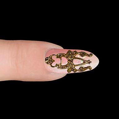 10 Nail Jewelry Diğer Süslemeler Mevye Çiçek Soyut Klasik Karikatür Sevimli Düğün Punk Günlük Mevye Çiçek Soyut Klasik Karikatür Sevimli