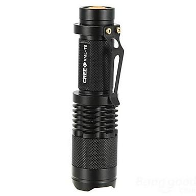 LS007 LED Taschenlampen LED 1000lm 5 Beleuchtungsmodus Zoomable- / einstellbarer Fokus / Stoßfest Camping / Wandern / Erkundungen / Für