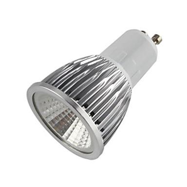 500-550 lm GU10 LED Σποτάκια MR16 1 leds COB Θερμό Λευκό AC 85-265V