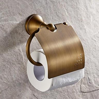 Toalettrullholder Høy kvalitet Antikk Messing 1 stk - Hotell bad