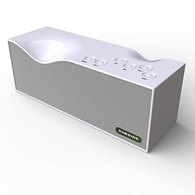 Voor buiten Voor Binnen Bluetooth Draagbaar Draadloos Bluetooth 3.0 3.5mm AUX USB Luidspreker voor buiten Wit Blauw