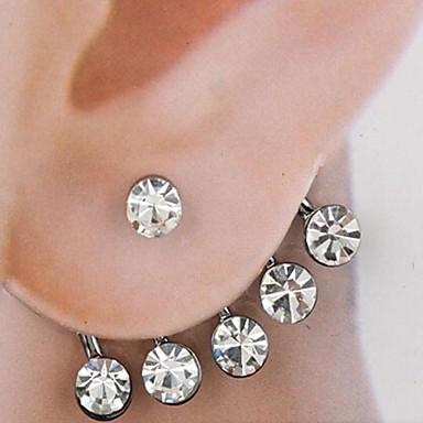mooie lichtmetalen oorbellen trouwpartij elegante vrouwelijke stijl