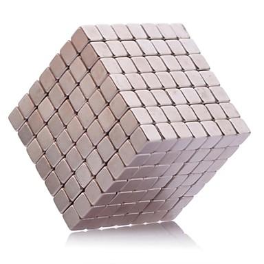 216 pcs 5mm Jouets Aimantés Blocs Magnétiques Blocs de Construction Aimants Magnétiques Super Forts Aimant Néodyme Soulagement de stress et l'anxiété Jouets de bureau A Faire Soi-Même Enfant / Adulte