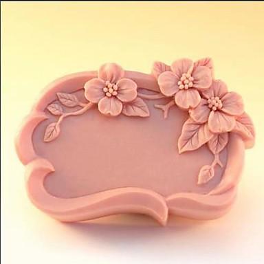 Backform Blume Chocolate Plätzchen Kuchen Silikon Gummi Umweltfreundlich Gute Qualität nicht-haftend