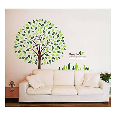 Yılbaşı Botanik Karton Duvar Etiketler Uçak Duvar Çıkartmaları Dekoratif Duvar Çıkartmaları, PVC Ev dekorasyonu Duvar Çıkartması Duvar