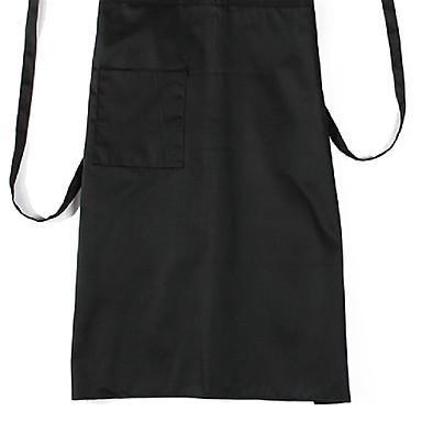 fekete szakács kötény