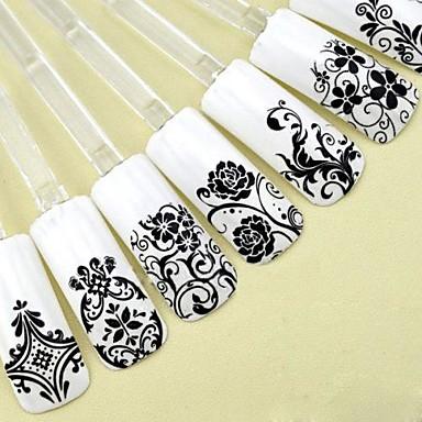 1 pcs Flower / Fashion 3D Nail Stickers Nail Art Design Cute Daily