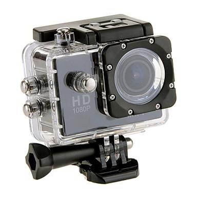 EOSCN W9 Sports Action Camera 12MP 1280x960 / 1920 x 1080 WiFi / Waterproof / Tiltable LCD 2 CMOS 32 GB H.264 Single Shot / Burst Mode30